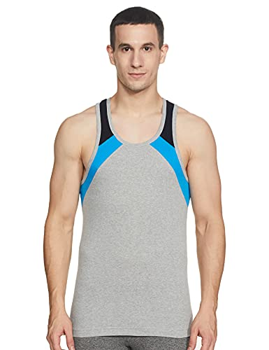 Macroman M-Series Men's Cotton Vest (Colors May Vary) (8903978008028_MS908_X-Large_Assorted)