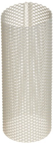 Asahi America Sediment Strainer Replacement Mesh Screen, PVC, For 1' Strainer, 20 Mesh