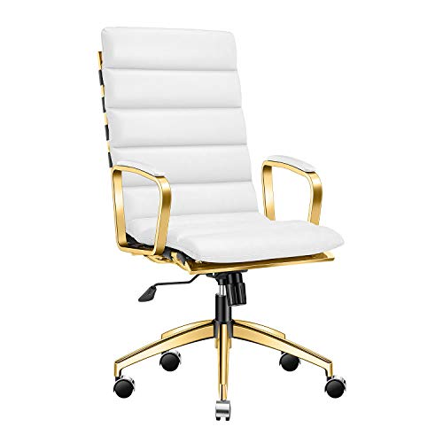 LUX Modern Gold Office Chair