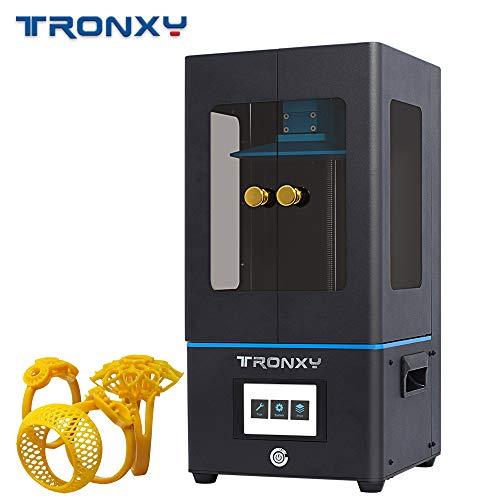 Extaum Imprimante 3D de photopolymérisation LCD de Haute précision pour imprimante 3D de la résine Tronxy UV Printer avec Support d'écran 4K pour écran Tactile de 3,5 Pouces,