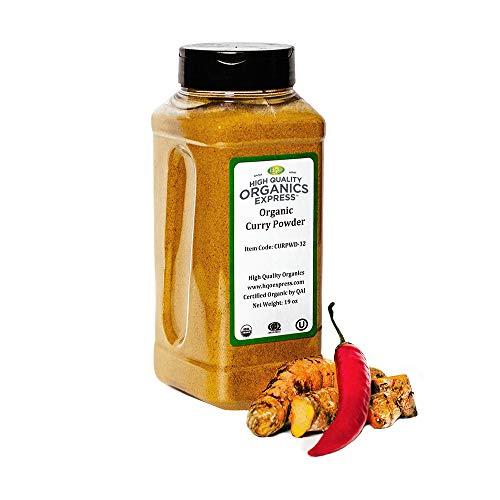 HQOExpress | Organic Curry Powder | 19 oz. Chef Jar