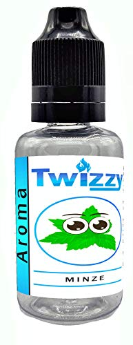 30ml Twizzy XL Minze Aroma | Aroma für Shakes, Backen, Cocktails, Eis | Aroma für Dampf Liquid und E-Shishas | Flav Drops | Ohne Nikotin 0,0mg