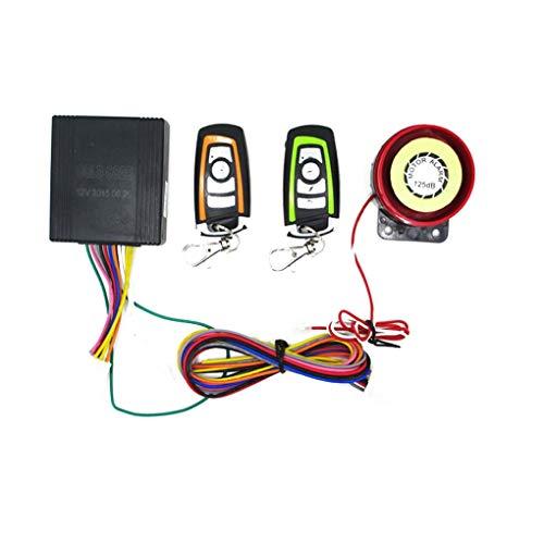 Motorfiets Scooter Alarmsysteem Antidiefstal Afstandsbediening Motorstartapparaat Motoraccessoires