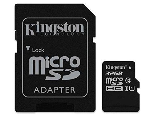Original Kingston MicroSD karte Speicherkarte 32GB Für Samsung Galaxy J3 Duos (2016)