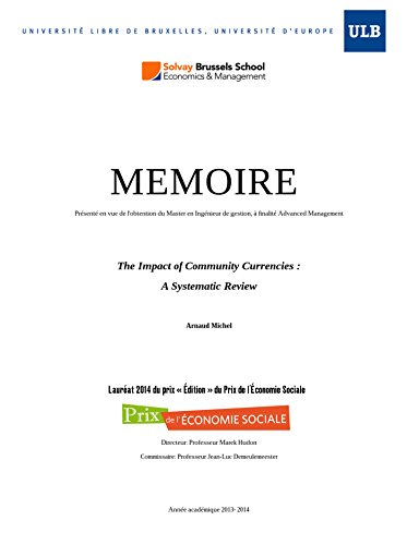 Couverture du livre The Impact of Community Currencies : A Systematic Review (English Edition)