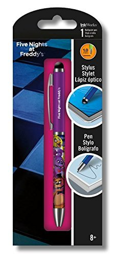 Five Nights At Freddys Ballpoint Click Pen and Stylus Combination
