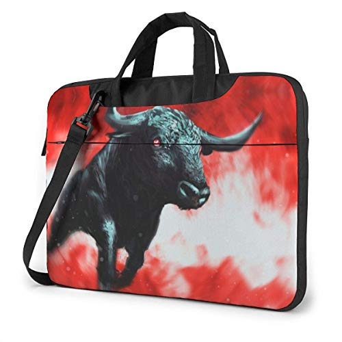 XCNGG Bolso de hombro Computer Bag Laptop Bag Carrying Laptop Case, Dinosaurs Print Computer Sleeve Cover with Handle, Business Briefcase Protective Bag for Ultrabook, MacBook, Asus, Samsung, Sony, N