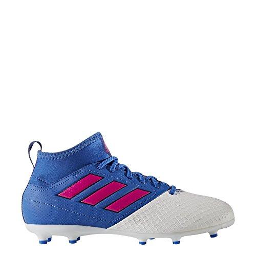 adidas Ba9232 Ace 17.3 Firm - Botas de fútbol para niños, Infantil, BA9232, Blue/Red/White, Size UK 5.5