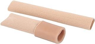 SOOBA 15cm S/M/L Fabric Finger Toe Protector Separator Applicator Pedicure Corn Callus Remover Hand Pain Relief Soft Silic...