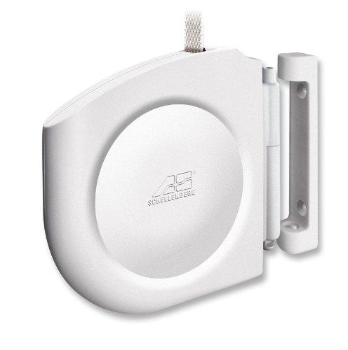 Schellenberg Design Aufschraubwickler Mini Weiß | Besonders kleiner Gurtwickler