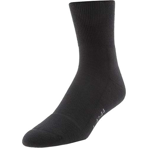 Rohner Fibre Light Quarter Wandersocken schwarz 42-44