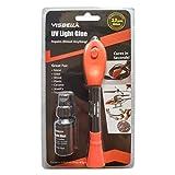 UV Light Curing Glue Liquid Plastic Welder Adhesive Kit 5 Seconds Fix/Fill/Seal/Bond/Repair Almost Anything - Waterproof and Heat-Resistant-(4g+8g Bonus)