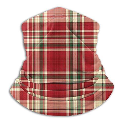 Lzz-Shop Multifunktionstuch Bandanas Schal,Schlauchtuch,Kopftuch,Stirnband,Tuch Halsschlauch Farbe Plaid