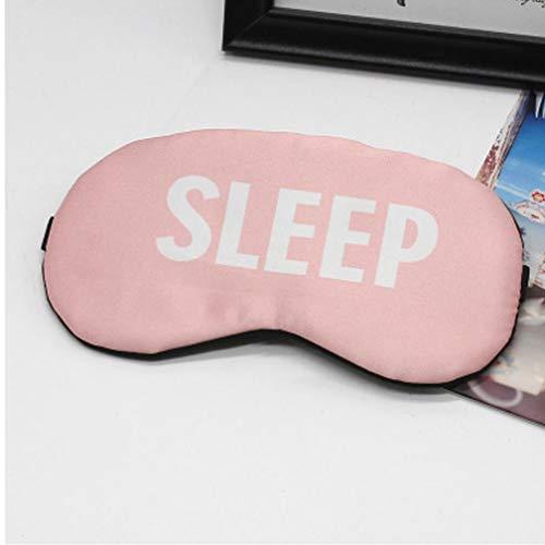PiniceCore Nette Baumwollkarikatur Augen-Abdeckung Schlafmaske Kreative Lustige Eyepatch Schlafmaske Reise Relax Eye Band Schlafhilfe für Kinder mit verbundenen Augen