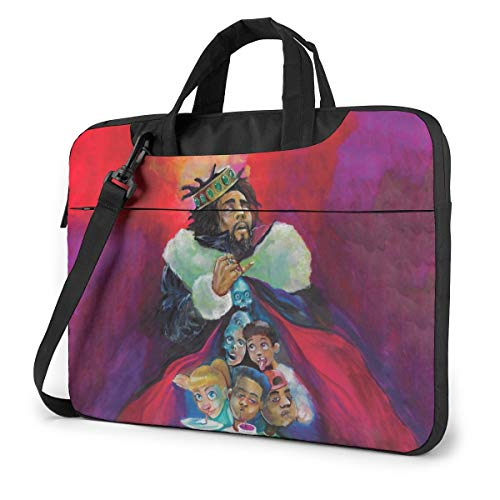 Vsldfjc Music J.Cole Stylish Customized Laptop Shoulder Bag, Suitable for 13-15.6 inch MacBook Pro/Air and Most Other Laptops, Portable Laptop Bags, Briefcase Protective Covers