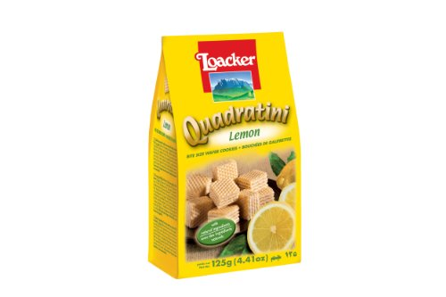 Loacker Quadratini Lemon 125g