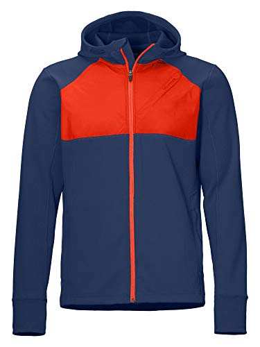 Marmot Hanging Rock Sweats à Capuche, Arctic Navy/Victory Red, XL Homme