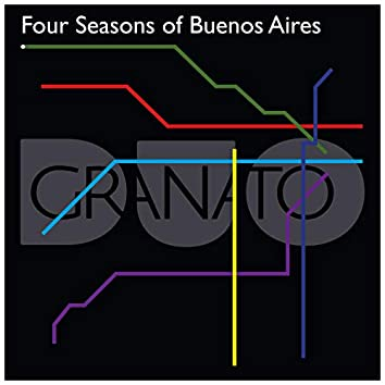 Four Seasons of Buenos Aires (Arrangement for Saxophone and Piano)