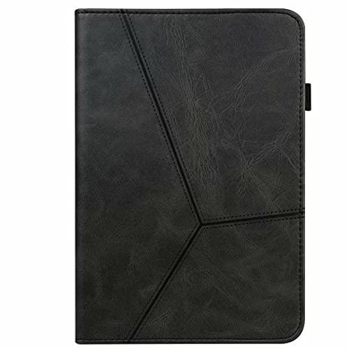 Funda para Samsung Galaxy Tab A6 10.1' (2016) T580/T585 - [Protección de esquina] Funda tipo libro con función atril y función atril para tablet de color negro