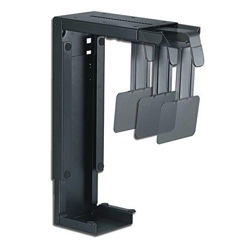 Newstar CPU-D100BLACK - Soporte para CPU (peso máximo soportado 30 kilogramos), negro