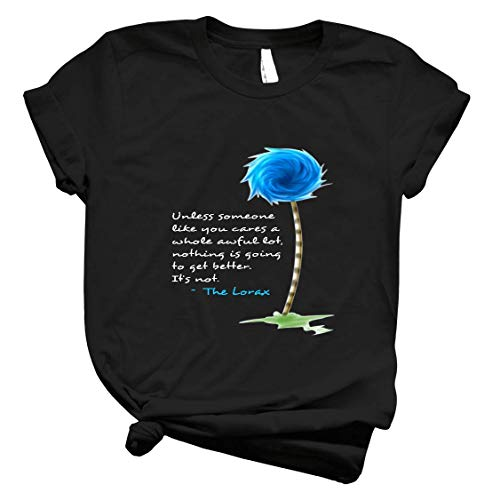 The Lorax Unless Cool Graphic Shirts For Women - Vintage T Shirts For Men Graphic - T-Shirts For Girls Graphic Customized Shirt