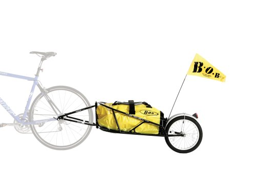 BOB Yak 28 Plus Trailer In Black (Includes Dry Sak) Fahrradanhänger