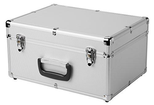 Bresser Erudit DLX/Researcher Transportkoffer für Mikroskop und weitere silber