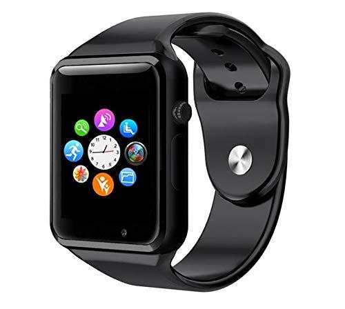 smartwatch a1 WORG Smartwatch Orologio Touch Screen con Sim Slot e Micro SD cinturino in silicone