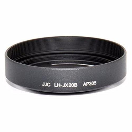JJC LH-JX20B Black Metal Lens Hood Adapter for Fujifilm Finepix X30 X20 X10 Camera As LH-X10