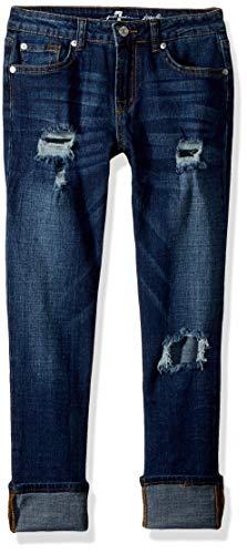 7 For All Mankind Mädchen Josefina Stretch Denim Jeans, Herzogin, 6X