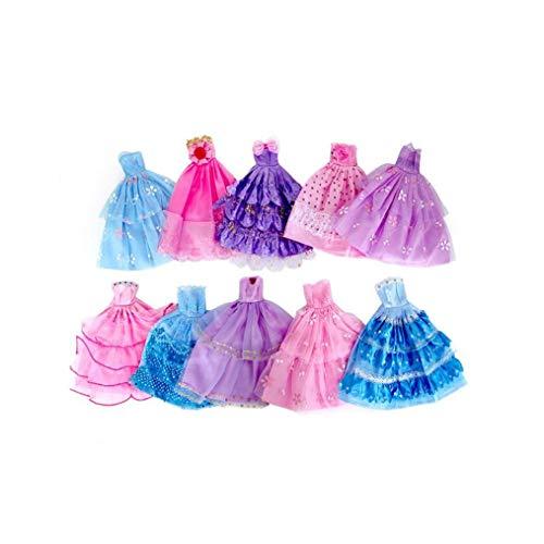 Ropa del Estilo del Color Azar Vestido Hecho a Mano De La Novedad para Los Regalos del Vestido Vestido De Fiesta De Boda De La Tarde De La Falda para Niños