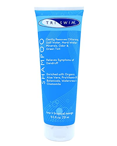 TRISWIM Chlorine Removal Swimmers Shampoo Moisturizing Repairing Hair
