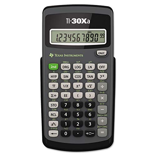 ti 30xa calculator - 3