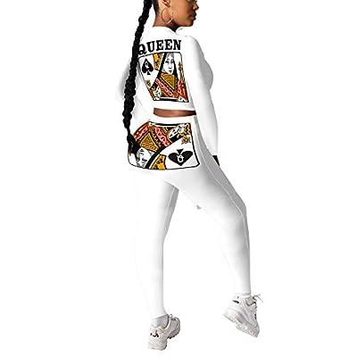 Amazon - Save 50%: Kafiloe Women 2 Piece Tracksuit Outfits – Long Sleeve Pullover Sweatshir…