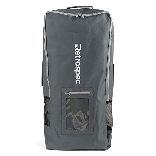 Retrospec Ruck Sack iSup Inflatable Standup Paddle Board Bag, Graphite