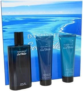 Cool Water Men Eau-de-toilette Spray, Shower Gel and After Shave Balm by Zino Davidoff