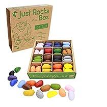Crayon-Rocks-Crayones-SOYA-no-toxicos-para-ninos-Estimulante-el-Mango-de-lapiz-64-Tiza-Duradera-en-Caja-de-Papel-Kraft-16-o-32-Colores-Dibujo-sobre-Papel-y-Tela-Just-Rocks