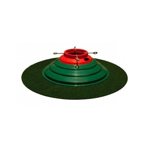 """Christmas Tree Stand Mat Absorbent Water Trapper for Floor Protection Best Under Xmas Tree Carpet Mat. This 32"""" Round Christmas Tree Floor Protecting Mat Hogs Water. One of the Best Water Trapper Mats."""