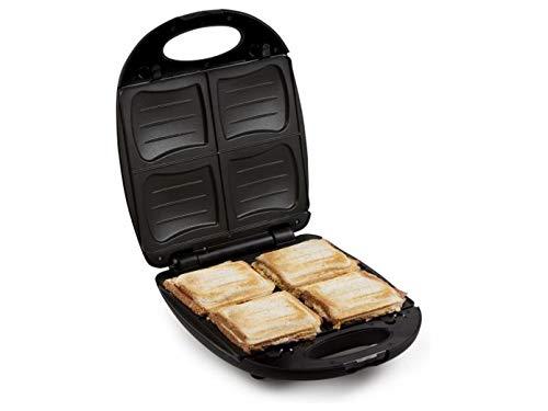 Domo DO9166C Sandwichmaker, Kunststoff, Weiß