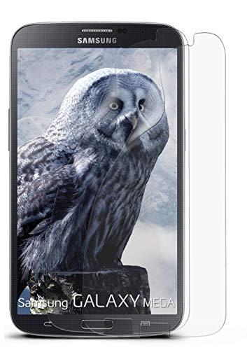 MoEx® Anti Reflex Displayschutzfolie kompatibel mit Samsung Galaxy Mega 6.3 | Schutzfolie Matt Display Folie gegen Reflexionen, flexibel, 2X Stück