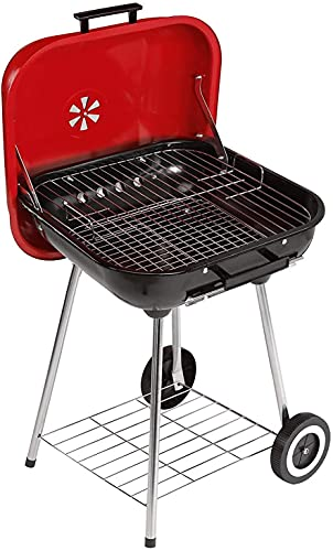 LING Grill Charcoal Trolley