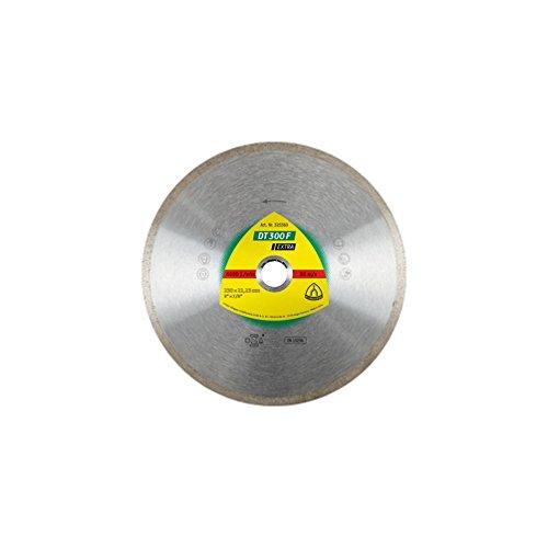 Klingspor DT 300 F EXTRA Diamanttrennscheibe für Fliesen, Basic für Winkelschleifer  , 180 x 22,23 x 1,6 mm