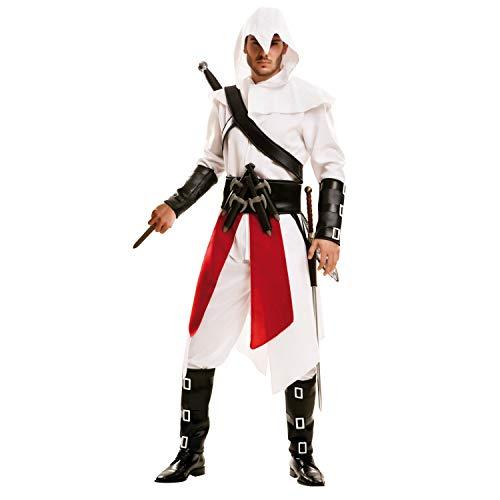 My Other Me Mörderkostüm für Herren (Viving Costumes) Small weiß