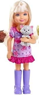 Barbie & Her Sisters in a Pony Tale Chelsea Doll Gray Kitten