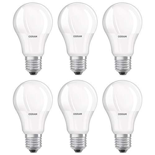 OSRAM LED VALUE CLASSIC A 60 E27 MATT 8,5W=60W 806lm warm white 2700K nondim 6er