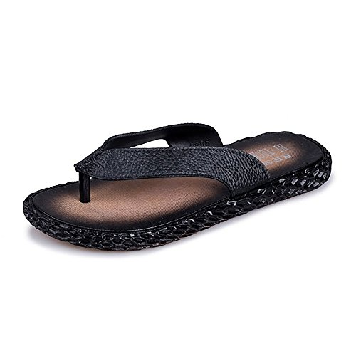 kengbi Zapatillas de Verano para Mujer de Verano Chanclas de Playa para Hombre Sandalias de Playa Zapatillas clásicas (Color : Black, Size : 44 EU)