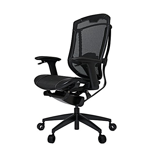 VERTAGEAR Triigger 350 Gaming Chair, Large, Black/Black