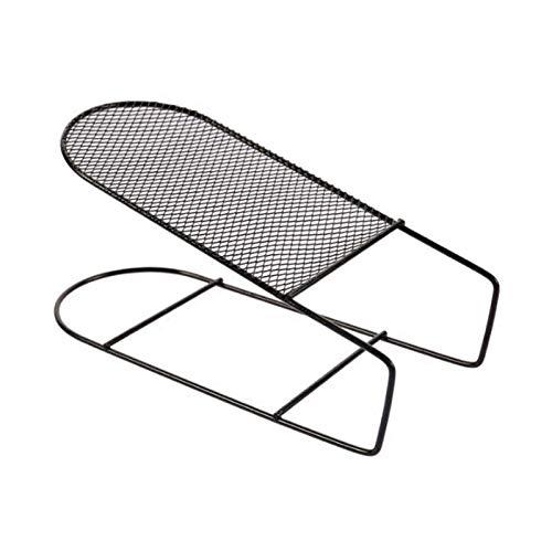 LJKD 5 zapatero de hierro forjado de doble capa, estante de zapatos integrado, estante de almacenamiento de zapatos para el hogar