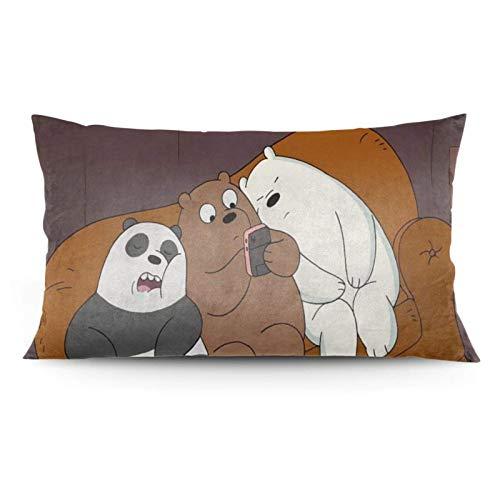 zhaoyang Funda de almohada, anime, manta o cama, dormir, sofá almohada (50 x 36 pulgadas)