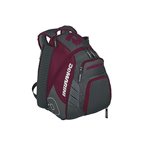 DeMarini Voodoo Rebirth Backpack, Maroon